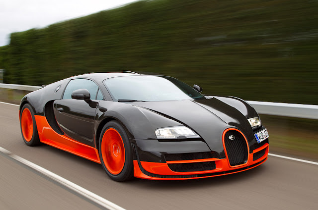 The fastest 5 cars in the world