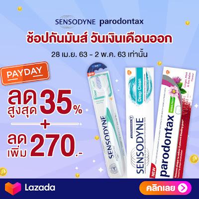Sensodyne prodontax 35%+270.-