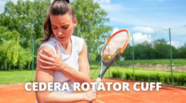 Cedera Rotator Cuff : Pengertian, Tanda Gejala, Penyebab, Faktor Risiko Pada Tubuh Manusia Pengertian Cedera Rotator Cuff Cedera Rotator Cuff adalah kondisi cedera pada sebagian atau seluruh ligamen pada rotasi sendi bahu. Bagian bahu memiliki 3 jenis tulang (seperti tulang belikat, klavikula dan humerus) dan 3 sendi (sendi lengan, tulang rawan sendi artikular (ACJ), dan sternoklavikularis). Bahu memiliki jangkauan gerakan terbesar dibandingkan sendi tetapi lebih rentan terhadap cedera.  Otot deltoid besar memberikan kekuatan yang paling besar untuk menggerakkan bahu. Di bawah deltoid ada empat otot rotasi sendi yang menarik kembali gerakan bahu. Ligamen merupakan bagian yang mengikat otot dengan tulang. Rotator cuff diciptakan oleh otot dan ligamen mengokong bagian lengan atas pada sendi bahu.  Tanda dan Gejala Cedera Rotator Cuff Jika menderita Cedera Rotator Cuff, gejala yang muncul terutama nyeri bahu, terutama ketika tangan berada dalam posisi lebih tinggi dari pada kepala. Lengan dan ahu juga dapat lebih lemah dari biasanya. Gejala lain termasuk nyeri saat menyisir rambut dan berbaring. Mungkin merasa sakit ketika mendorong benda dengan tangan, tetapi ketika menarik tangan kembali, rasa sakit menjadi tidak terasa.  Penyebab Cedera Rotator Cuff Penyebab rusaknya rotator cuff adalah cedera yang mungkin di alami. Tendon menghubungkan tulang ke bahu. Kerusakan biasanya terjadi dalam kegiatan atau pekerjaan yang melibatkan pergerakan tangan ke atas dan ke bawah seperti bisbol, renang, mengecat rumah dan pertukangan.  Faktor Risiko Cedera Rotator Cuff Faktor risiko dari Cedera Rotator Cuff adalah sebagai berikut : Umur Semakin tua maka semakin tinggi risiko yang dimiliki, terutama bagi berusia di atas 40 tahun Beberaoa kegiatan Olahraga Biasanya terjadi pada atlet yang sering menggerakkan tangan mereka untuk bermain, seperti bisbol, penahan dan tenis. Bekerja di Bidang Konstruksi Sebagai contoh, tukang kayu atau tukang pipa, tukang cat rumah, yang pekerjaannya memer