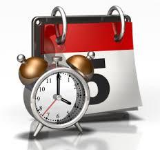 Cara menulis date and time dalam bahasa Inggris