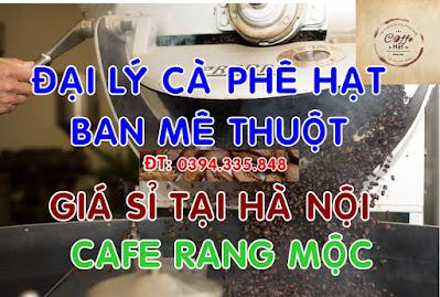 đại lý cafe nguyên chất tại hà nội