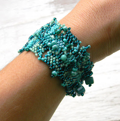 купить бохо украшения браслет морская волна подарок крым симферополь