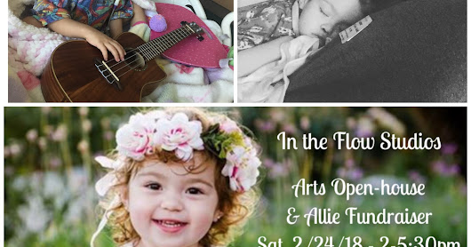 In the Flow Studios Arts Open House and Allie Fundraiser