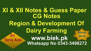 Regions And Development Of Dairy Farming Industry