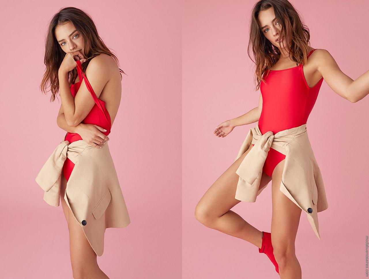 Bodys primavera verano 2020 moda mujer.
