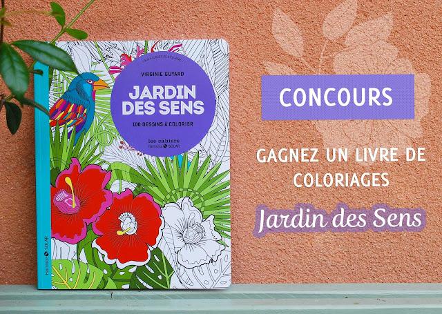 CONCOURS JARDIN DES SENS - COLORIAGES