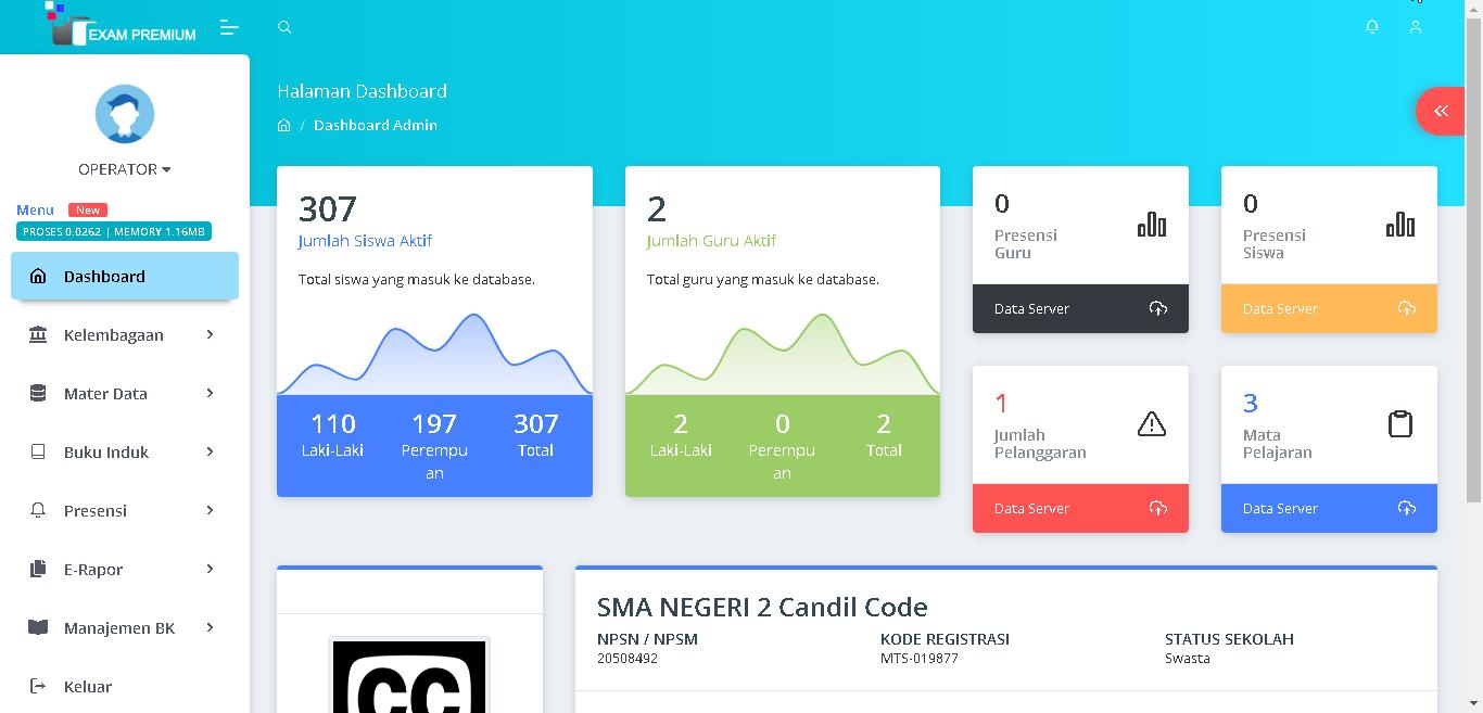 Source Code Aplikasi SmartSchool