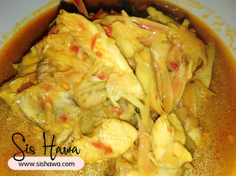 Resepi Ayam Masak Asam Tempoyak Yang Cepat Dan Mudah