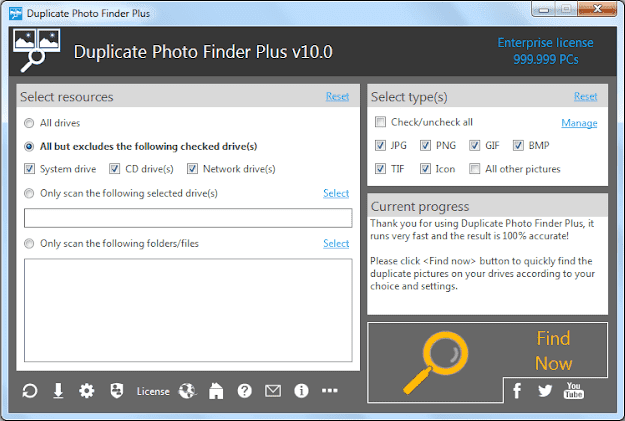 Screenshot TriSun Duplicate Photo Finder Plus 10.0 Build 030 Full Version