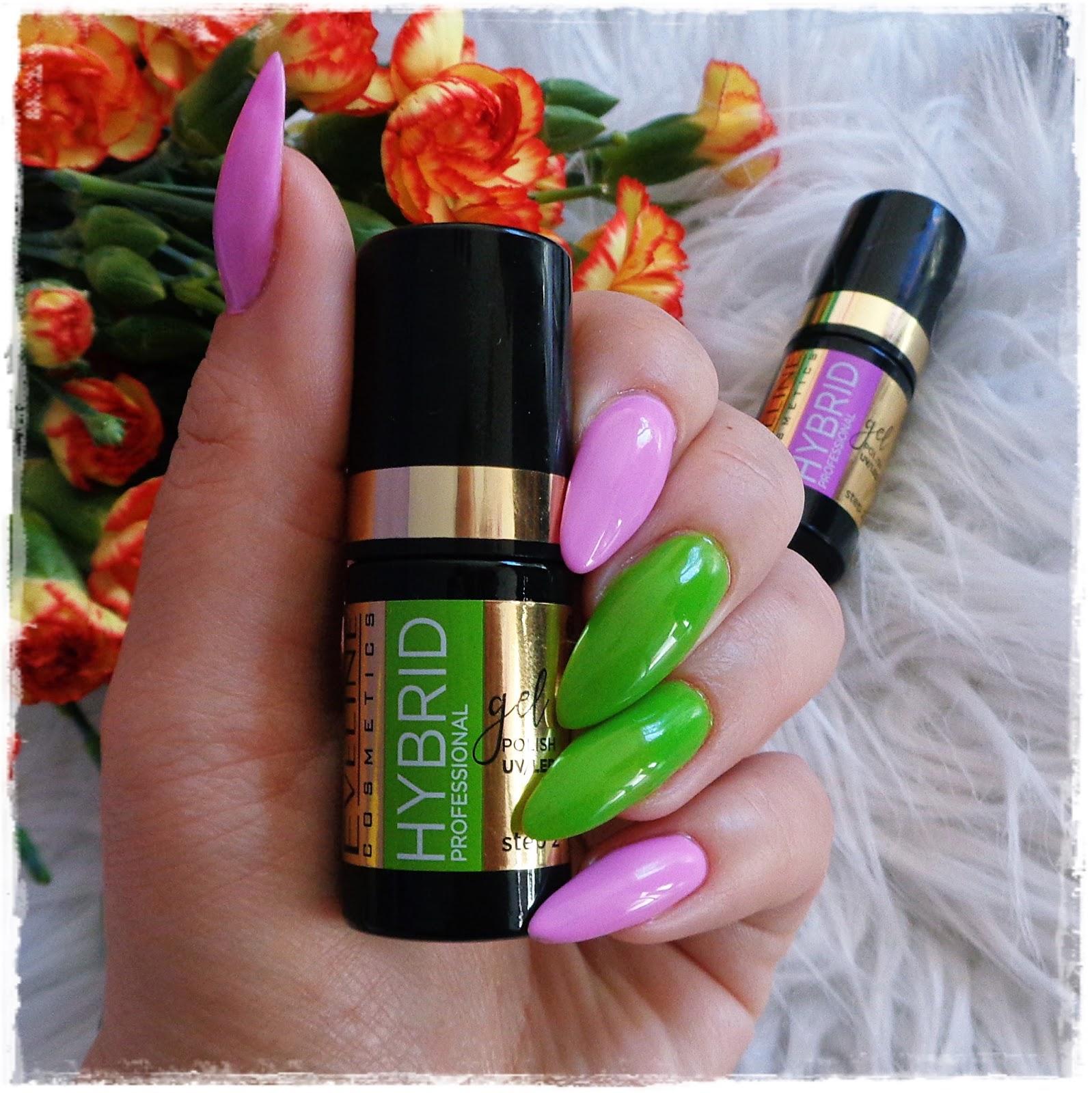 Eveline Cosmetics, Hybrid Professional, Wiosenny Manicure