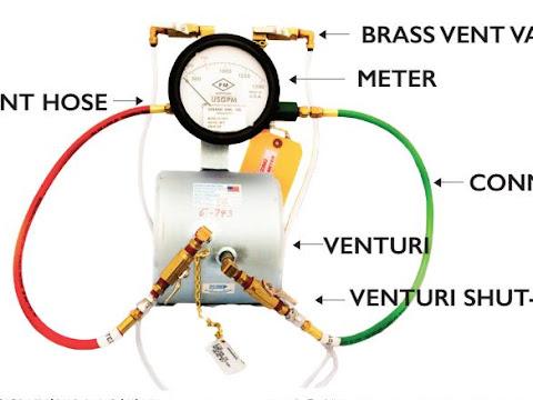 Flowmeter untuk Pompa Pemadam Kebakaran