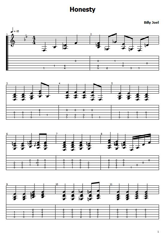 Honesty Tabs Billy Joel. How To Play Honesty On Guitar/ Billy Joel  Honesty Free Tabs / Billy Joel Sheet Music. Billy Joel - Honesty Chords