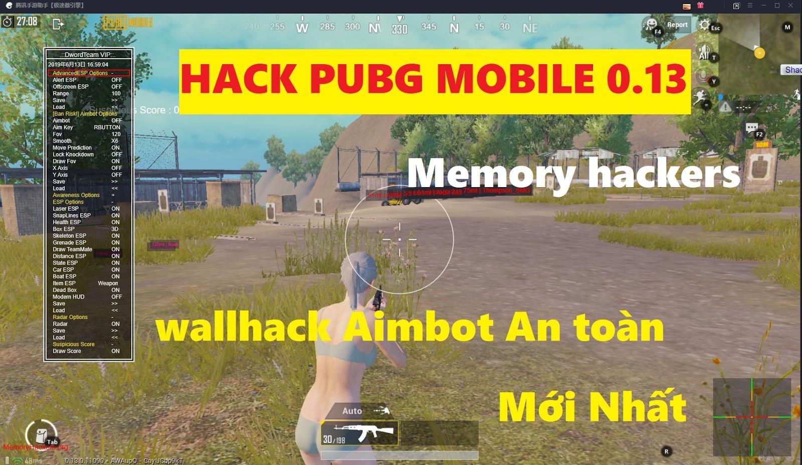 Memory Hackers PUBG - Hack PUBG Mobile PC | Hack PUBG Giả Lập Mới