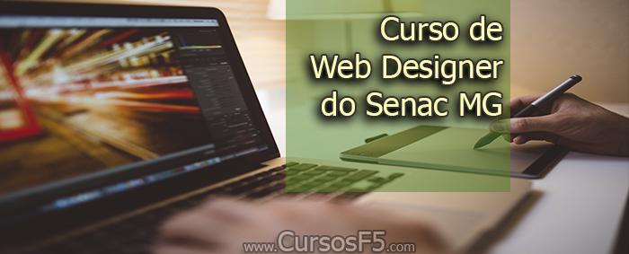 Curso de Web Designer do Senac MG
