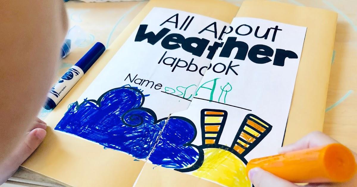   教具分享   DIY 主題手工書 -Lapbook about weather (附詳細說明與分享)