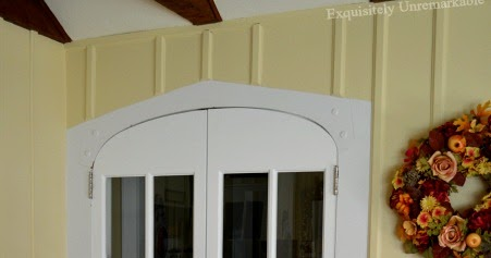 DIY Cheat | Creating A Custom Door For An Archway |Exquisitely Unremarkable & DIY Cheat | Creating A Custom Door For An Archway |Exquisitely ...