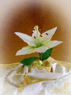 lilium en pasta de flores