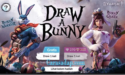 Draw bunny Free Fire Dapet Hadiah