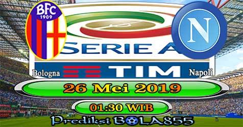 Prediksi Bola855 Bologna vs Napoli 26 Mei 2019