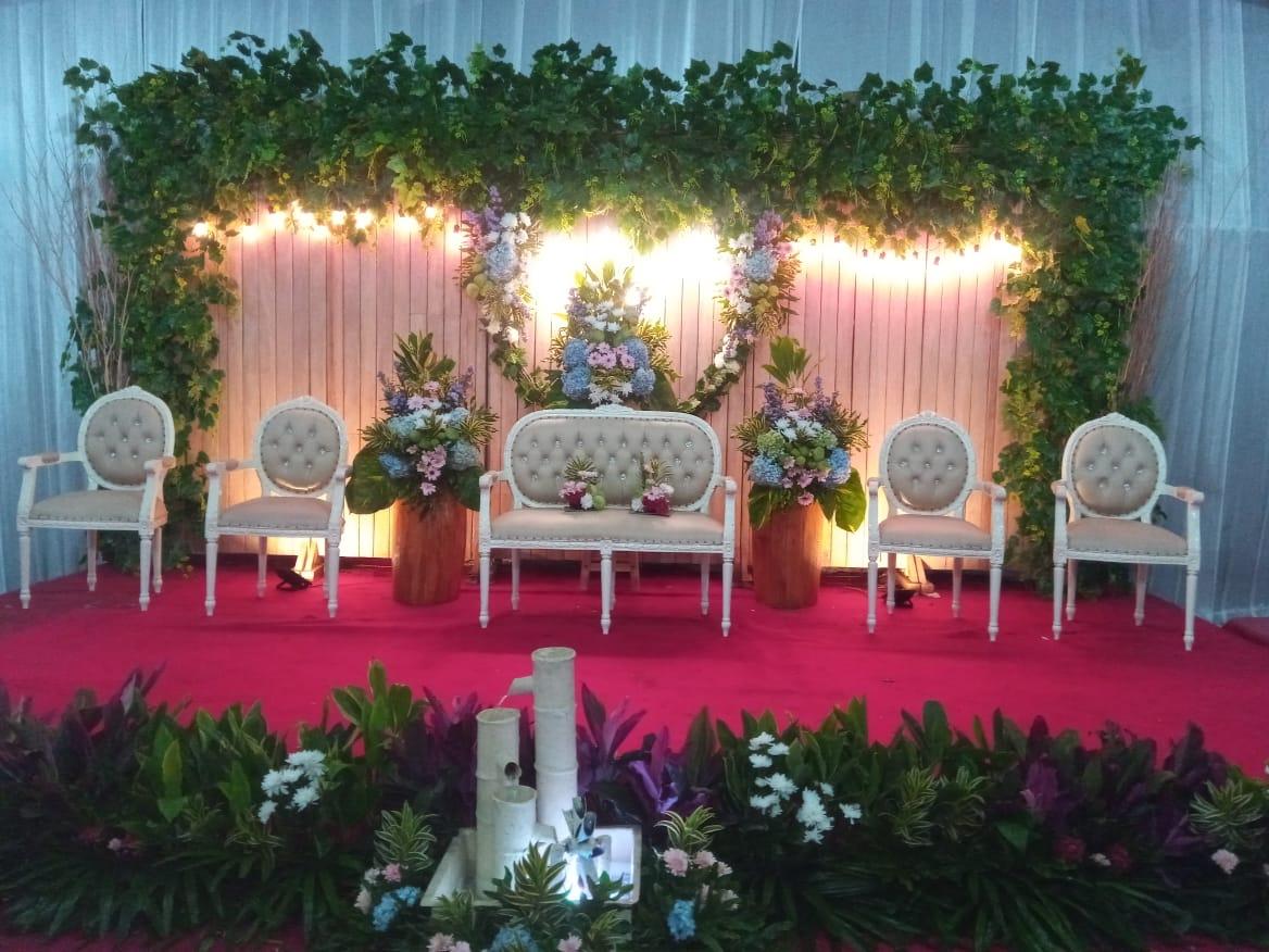 Jasa Vendor Dekorasi Bunga Pelaminan 034