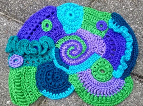 Haak Maar Aan Free Form Crochet