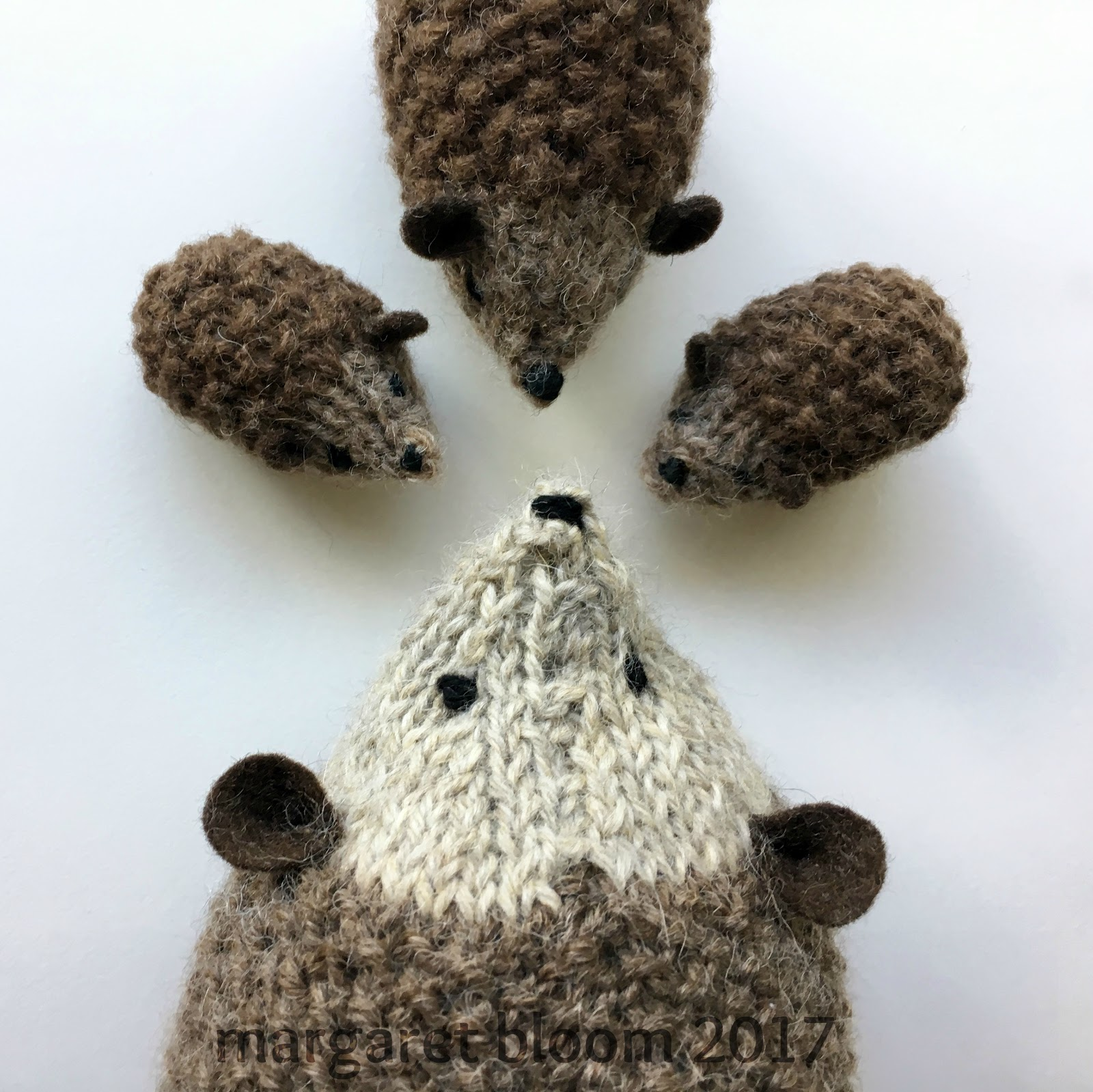 Knitting Pattern For Hedgehog : we bloom here: hans my hedgehog :: new enlarged knitting ...