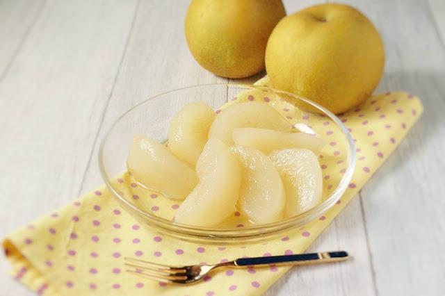 日持ちのする梨のコンポートレシピ