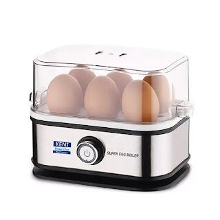 Kent Super Egg Boiler - 400 Watt | Best Egg Boiler Machine in India | Electric Egg Boiler Reviews