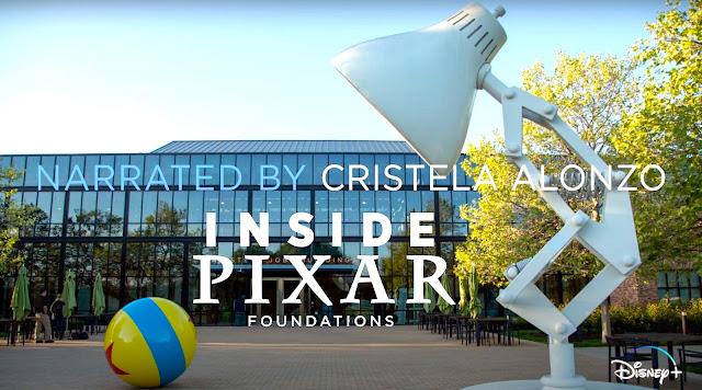 Inside Pixar Foundations on DisneyPlus