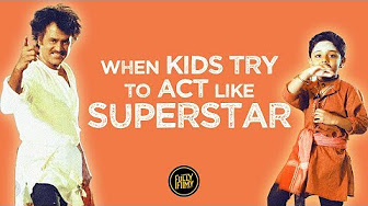 When Kids tried to Act like Superstar Rajinikanth | Fully Filmy