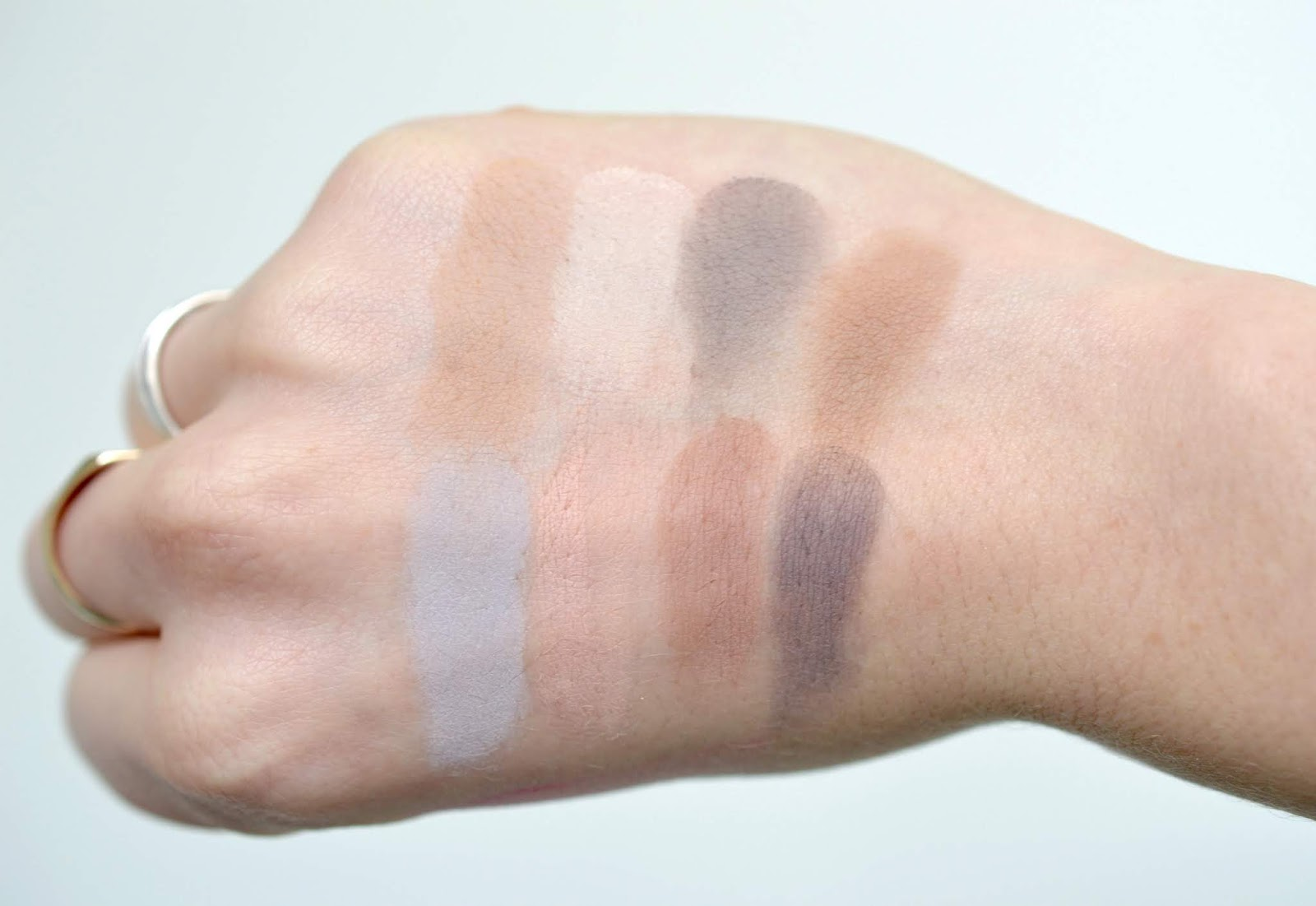 Physicians Formula Matte Eyeshadow Swatches