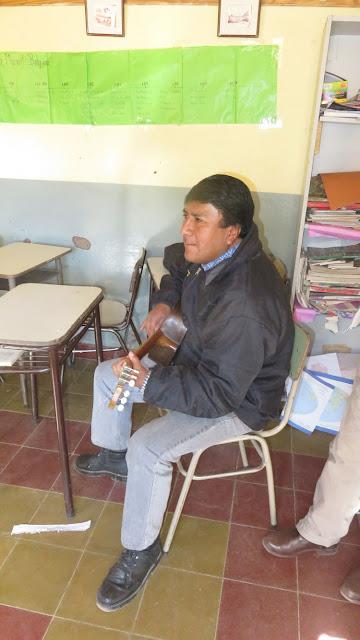 der Musiklehrer von Cienega Argentinien