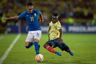 Seleção fica no 1 a 1 com a Colômbia