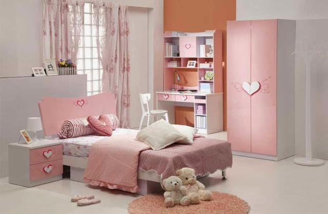 Bilik Tidur Anak Perempuan Simple