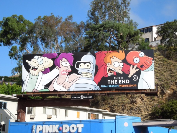 Futurama final season 7 billboard