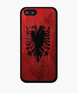 Albania, bandera, exclusivo, exclusivos