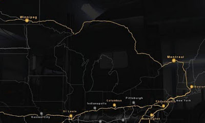 American Truck Simulator Mexuscan 1.4 ATS Map Download MODs good