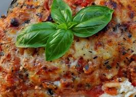 Keto Dinner   Eggplant Lasagna
