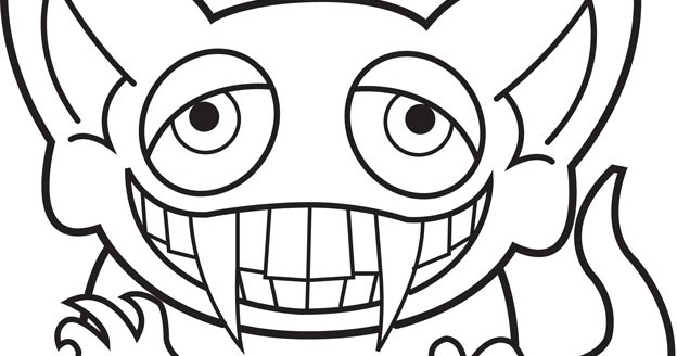minion coloring pages halloween goblin - photo#36