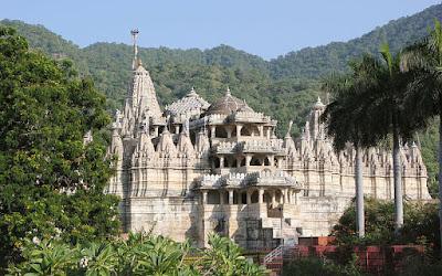 शत्रुंजय पहाड़ियां और जैन मंदिर भावनगर