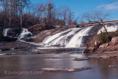 High Falls near overpass