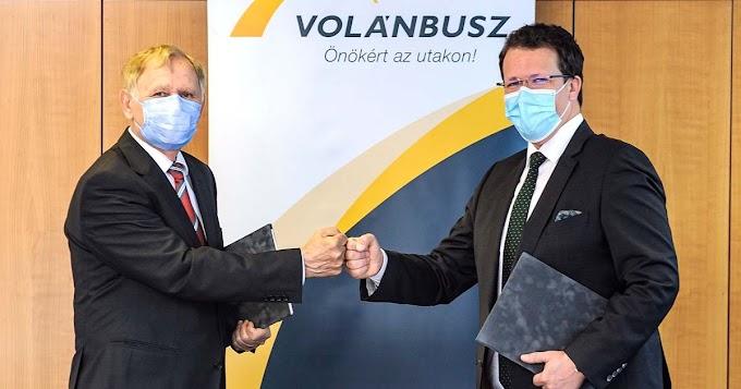 Polgárőrök védik a Volánbusz utasait