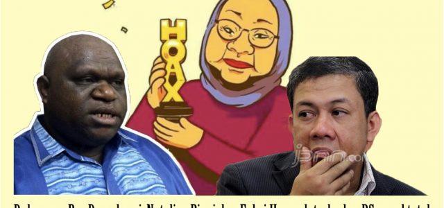 Ratna Akui Bohong, Dukungan Kelompok Natalius Pigai Dan Fahri Hamzah Gagal Total