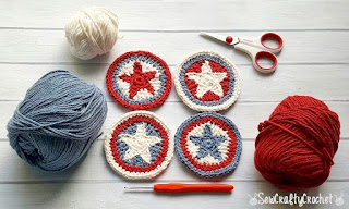Free Independence Day crochet patterns