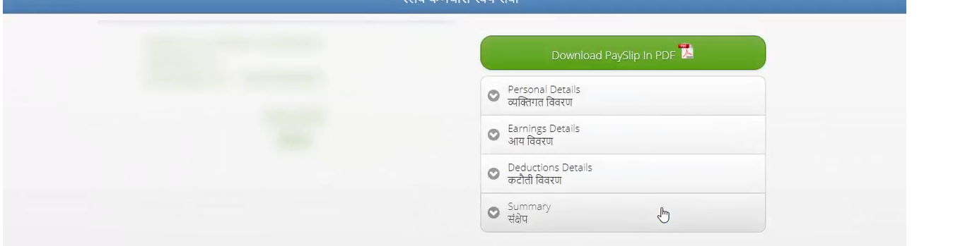 Download Payslip in PDF