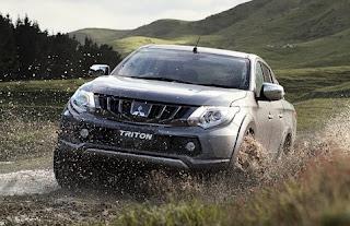 2017 Mitsubishi L200/Triton, GLS, GLX, GLX+, Exceed