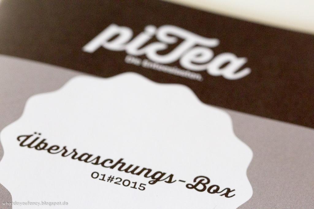 piTea Teebox Januar 2015