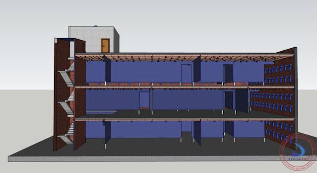 Thiết kế nhà yến rộng với chiều cao phù hợp thu hút chim yến cực tốt tại An Giang