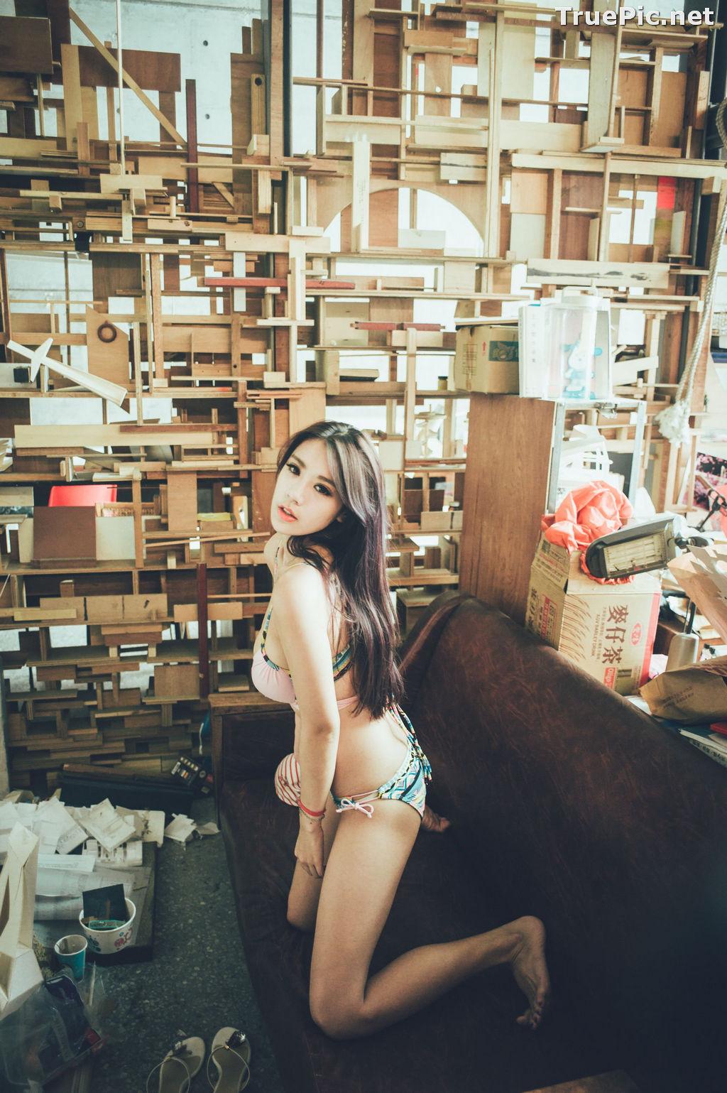 Image Taiwanese Model - 魏曼曼 (Amanda) - Bikini In The Room - TruePic.net - Picture-2