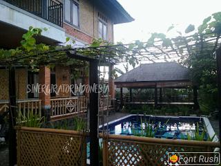 villa bogor sukabumi kolam renang dekat rafting arung jeram